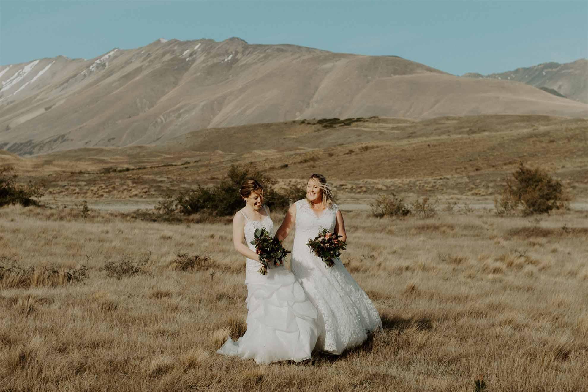 Frankly Faye lgbtqia+ photography lesbian wedding elopement Lake Tekapo New Zealand Dancing With Her magazine (28)