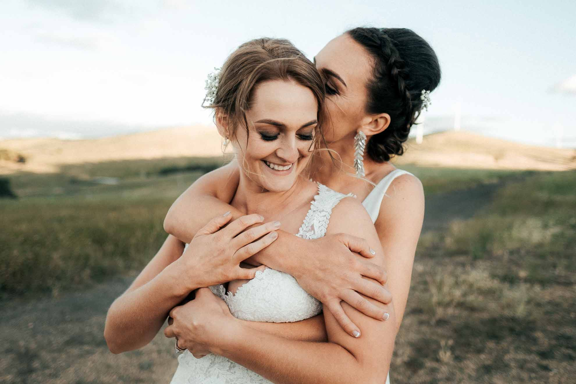 Henry Paul Photography lesbian lgbtq+ Australian farm country wedding New South Wales Dancing With Her magazine