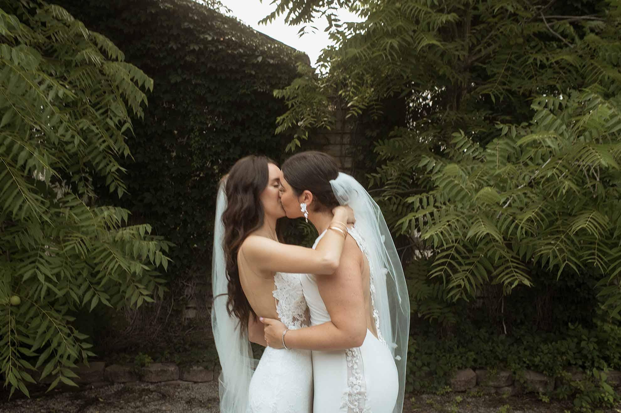 Jennifer Moher photographer Toronto Canada lesbian same-sex gay wedding Dancing With Her LGBTQIA magazine