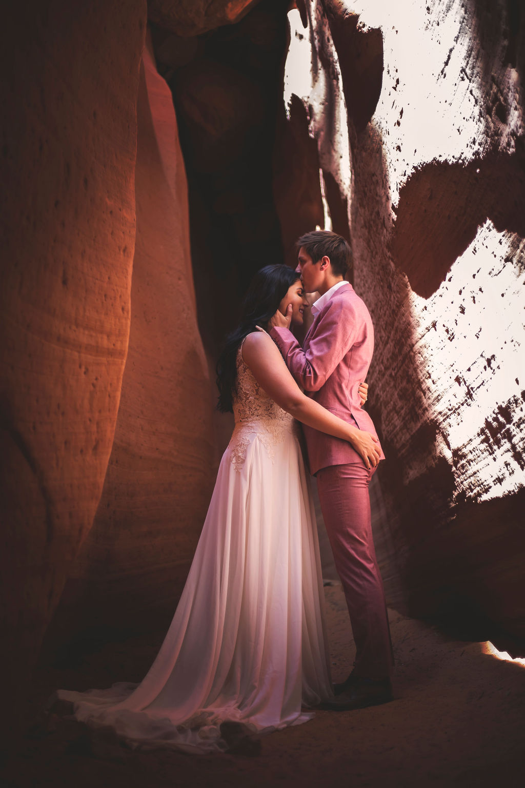 Utah Zion USA Mallory Lane Photography desert lesbian gay same-sex covid-19 pandemic elopement Dancing With Her (1)